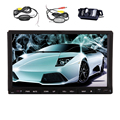 "Music WiFi Player 7"" GPS Stereo CD Auto Audio Radio Touchscreen Capacitive System Android 5.1 Car DVD 1080P USB APP"