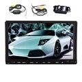 """Wi-fi de música Jogador 7 """"GPS Estéreo CD Sistema de Áudio Auto Rádio Touchscreen Capacitivo Android 5.1 Carro DVD 1080 P USB APP"""