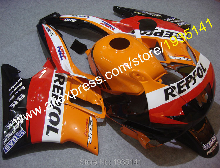 Hot Sales,For Honda CBR600 F2 1991 1992 1993 1994 CBR 600 F2 91 92 93 94 CBR-600 Repsol Bodywork Aftermarket Motorbike Fairings