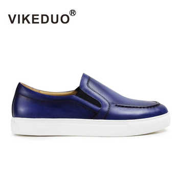 Vikeduo 2019 Summer New Men's Loafers Shoes Genuine Leather Casual Handmade Zapato Masculino Solid Sports Brand Male Shoe Sapato - DISCOUNT ITEM  43% OFF All Category