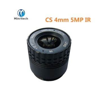 cctv lens1/2.5 f1.4  for cctv camera 4mm  iris lens  CS HD 5MP digital million lens metal fixed CCTV Camera lens control parts 3 6mm lens m12 ir board lens for cctv camera horizontal viewing angle f2 0 fixed iris