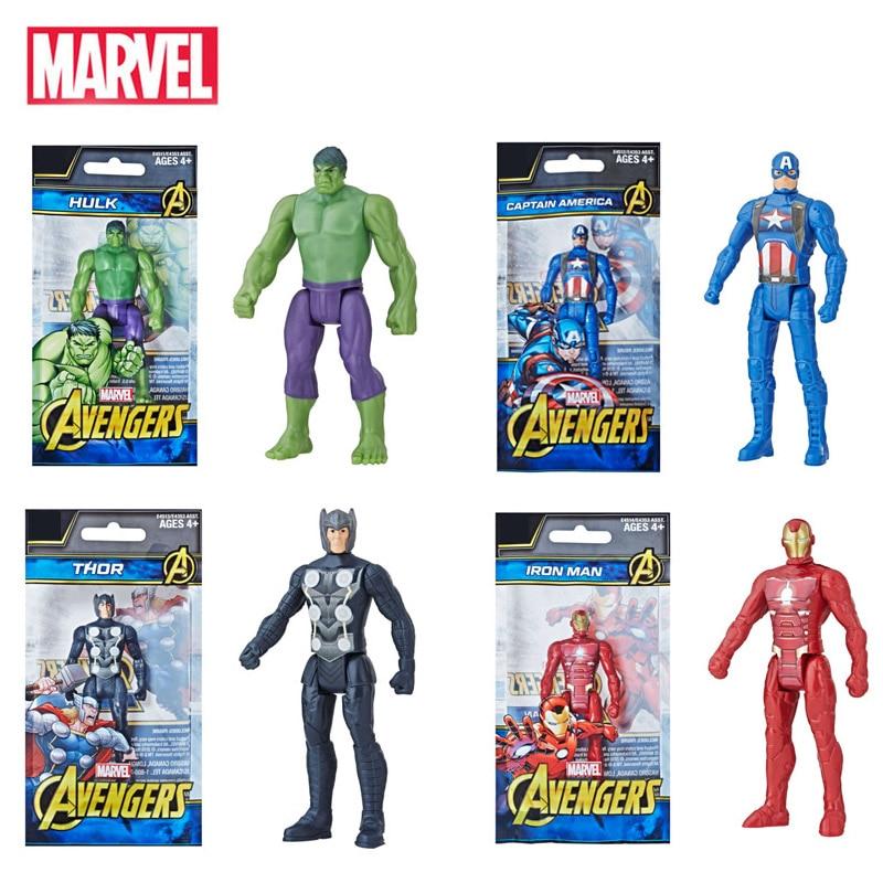 Marvel Avengers Super Hero Toys Infinity War Hulk America Captain Iron Man Thor Action Figure Toys Dolls Birthday Gift For Kid