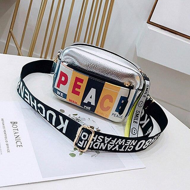 2018 Fashion PU Waist Bag Letter Beach Bag Women Waist Fanny Packs Belt Bag Luxury Brand Chest Handbag INS Popular High Quality