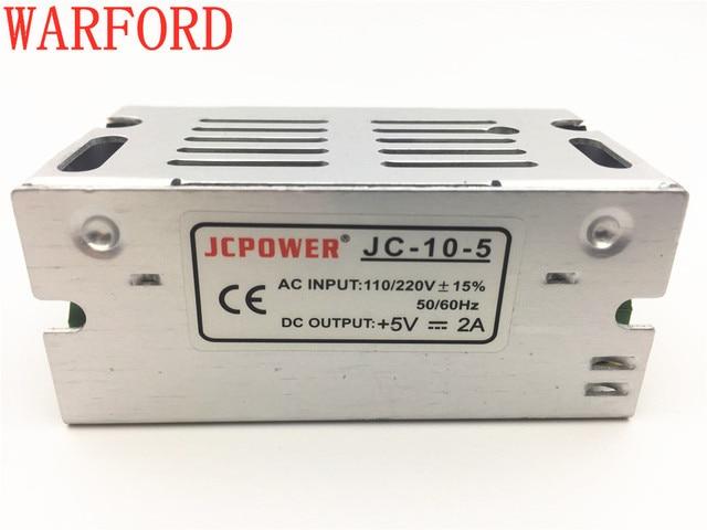 DC5V 2A 10W for ws2801/ ws2812b/lpd8806/apa102/3528 led strip switch power supply Lighting Transformers led drive  AC100-220V