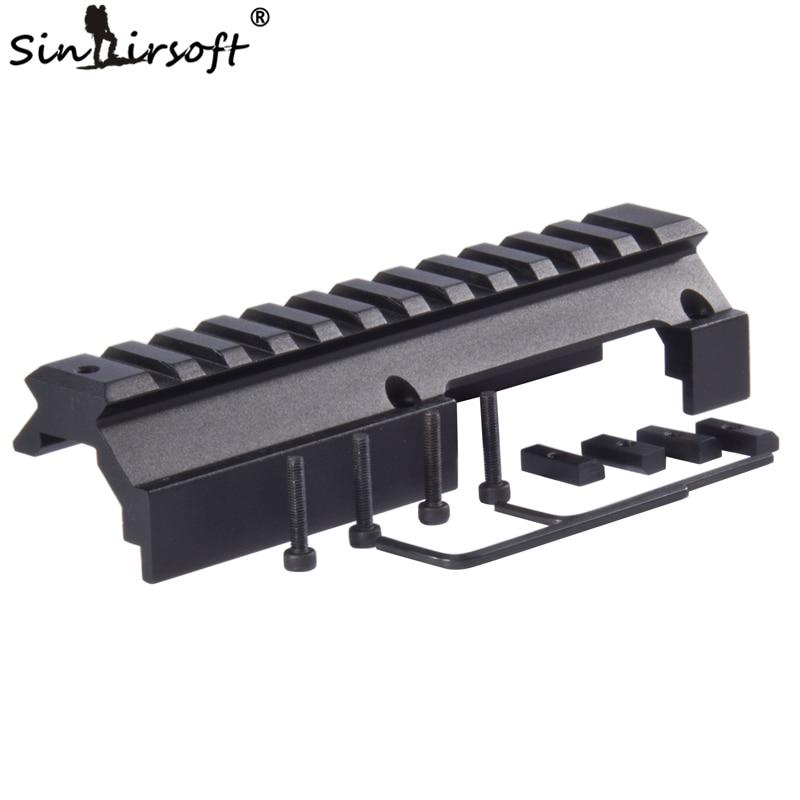 SINAIRSOFT Low Profile Universal Rail Scope Mount For Hk-91 H&k G3 GSG-5 MP5 SP89 Hk-91 93 94 & Cetme Rifles SA4450