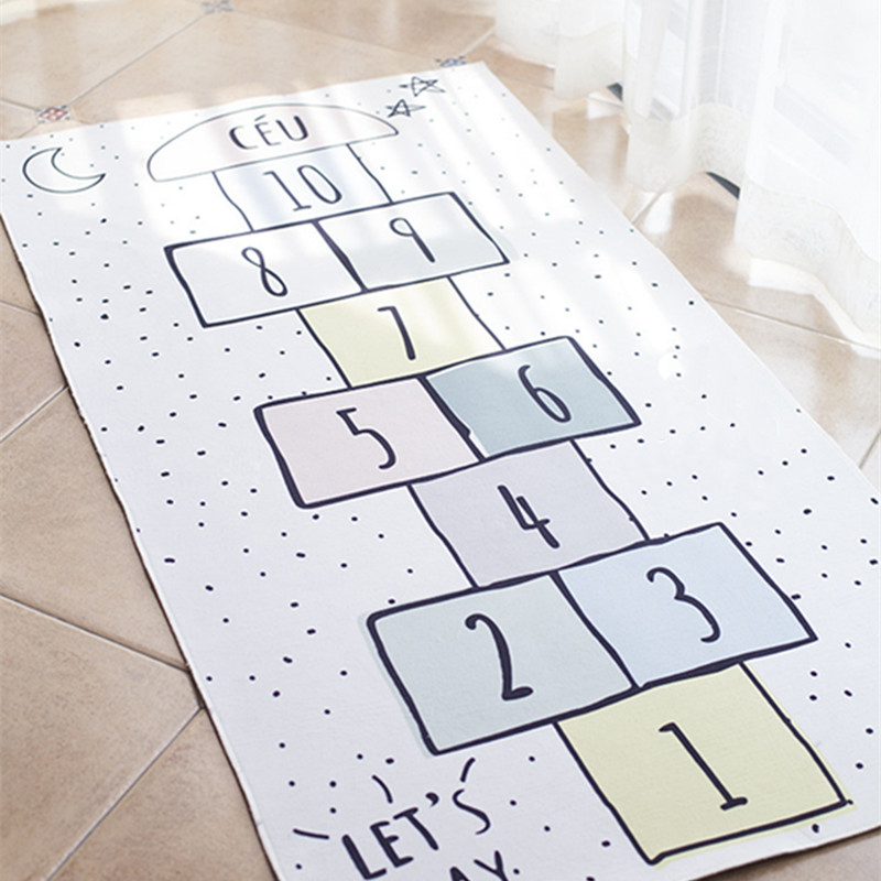 Baby Room Decoration Macaron Color Baby Hopscotch Game Mat Newborn Activity Gym Infant Photograph Props Crawling Blanket CarpetBaby Room Decoration Macaron Color Baby Hopscotch Game Mat Newborn Activity Gym Infant Photograph Props Crawling Blanket Carpet