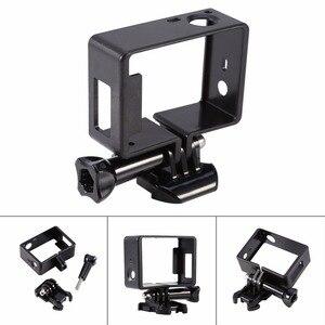 Image 5 - Für GoPro Zubehör GoPro Hero 4 3 + 3 Schutzhülle Grenze Rahmen Fall Camcorder Gehäuse Case Für Go Pro Hero4 3 + 3 Action Kamera