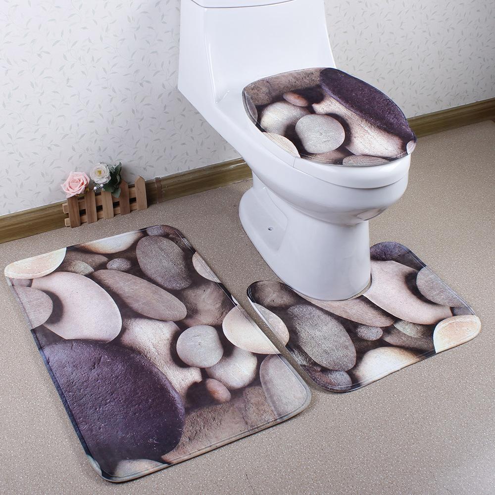 bao unids set de aseo estera d gris guijarros esteras lfombras dormitorio alfombra alfombras