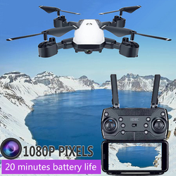 HDRC D8 Drone RC Helicopter Collapsible WirelessWifi  FPV 0.3MP or 5 megapixel camera height is still RC drone 1080P quadcopter