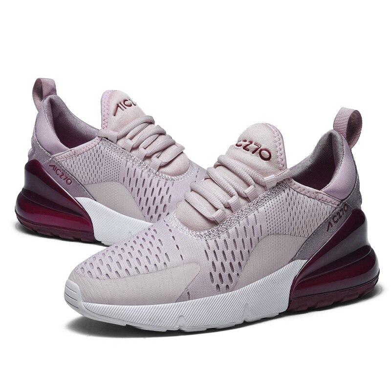 469578541a82d3 VIPBQO 2018 New Hot Air 270 Mens Women Running shoes Flair Triple Black 27C  Racer Basketball