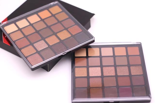Exceptionnel 25 couleur cuivre fard à paupières palette, bronzé palette  MD32
