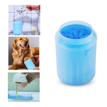 2019 NEW Pet Cat Dog Foot Clean Cup Paw Cleaner Tool Washer Dirty Cleaning Brush Supplies Accessories  L1