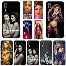 цена на Fashion Eleni Foureira Phone Cover for Huawei P8 Lite Case P20 Pro P10 P9 Mini P Smart Mate 10 20 Cases Skin