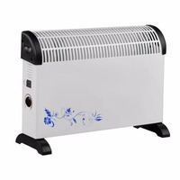 2000W Low Noise Electric Warmer Air Heater Comfortable U Type Air Blowing Home Office Hotel Two Gears Electric Heater