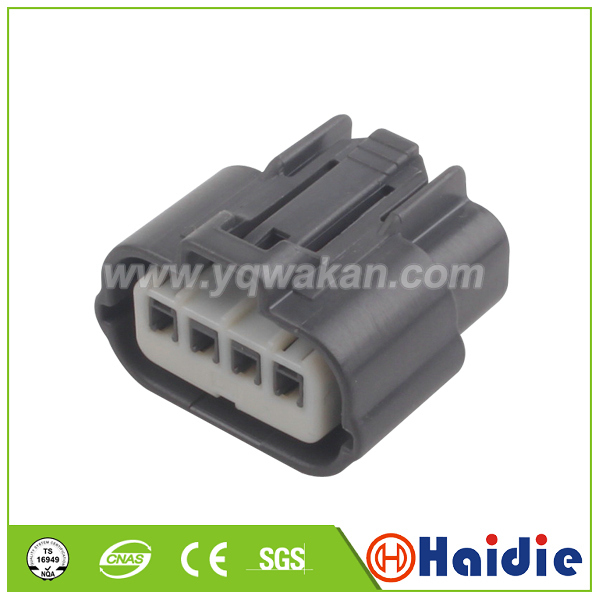 Free shipping 2sets 4pin auto electric waterpfoof plug wiring