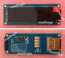 Maithoga 2.08 cal 7PIN SPI niebieski ekran OLED z płytka przyłączeniowa SH1122 sterownik ic 256*64 interfejs iic