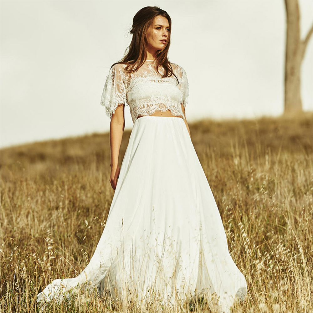 Online get cheap unique wedding dresses for Cheap boho wedding dresses