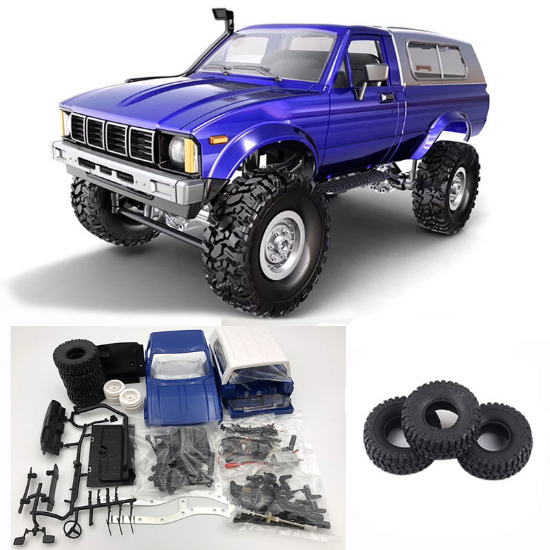 WPL C24 2.4G DIY RC Car Kit Remote Control Toys RC Crawler