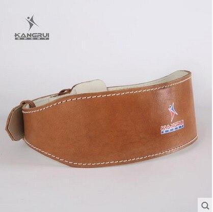 Ceinture de levage de poids en peau de vache ceinture Pesas ceinture Fitness équipement de gymnastique taille protecteur soutien lombaire haltérophilie ceinture