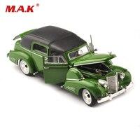 1/32 Scale Diecast Vehicles Vintage Car Cheap Car Toys for Boys Green 1938 Classic Car Antique Car Model Toys for Children
