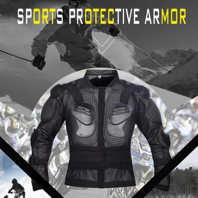 Veste de protection Moto  légère garde coupe-vent Protection avec armure 2
