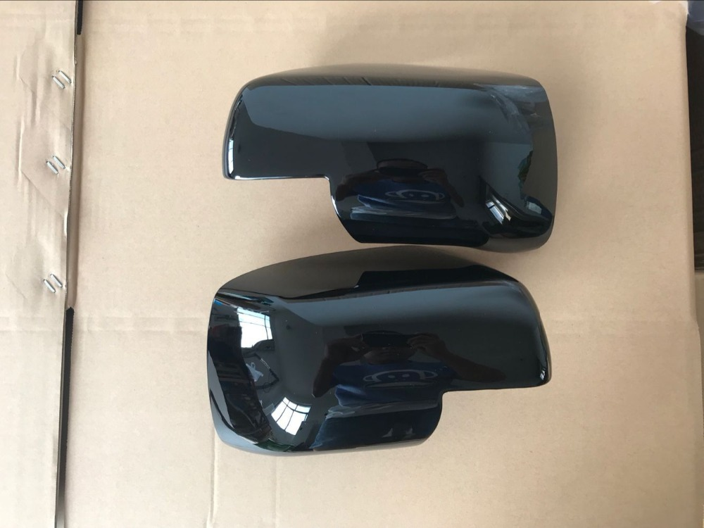 LH+ RH wing mirror cover for LAND ROVER discovery 3 / Freelander 2 / Range Rover Sport 05 09