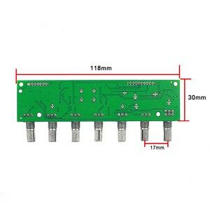 Image 5 - GHXAMP 5.1 préamplificateur tonalité canal indépendant Volume + réglage de fréquence basse 6 voies pour 5.1 amplificateur bricolage DC12 24V nouveau