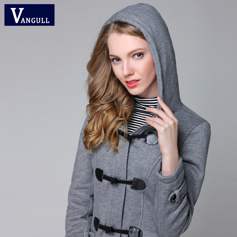 Vangull New Fashion Warm Winter Coat Women Thick Plus Size Hooded - Women's Clothing - Photo 2
