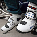 2016 profesional botas de moto velocidad motorbiker botas botas zapatos botas de carreras de motocicletas moto