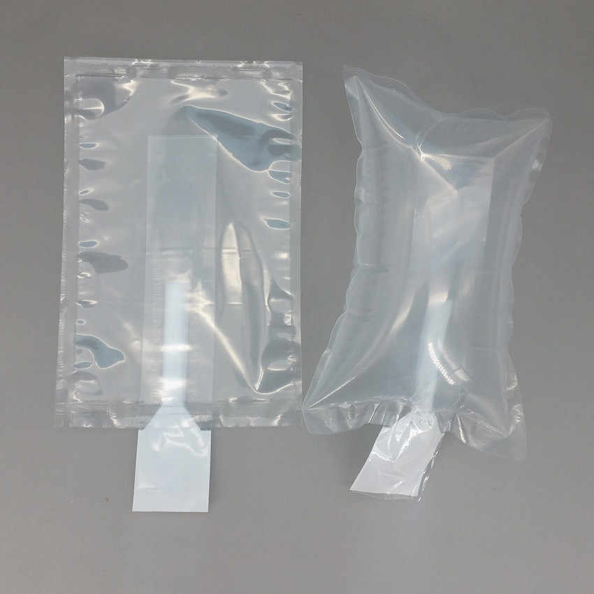 Plastic Clear PE Protective Pump Inflatable Cushioning Buffer Packing Material Bags For Packaging Brackage Shock proof 200pcs