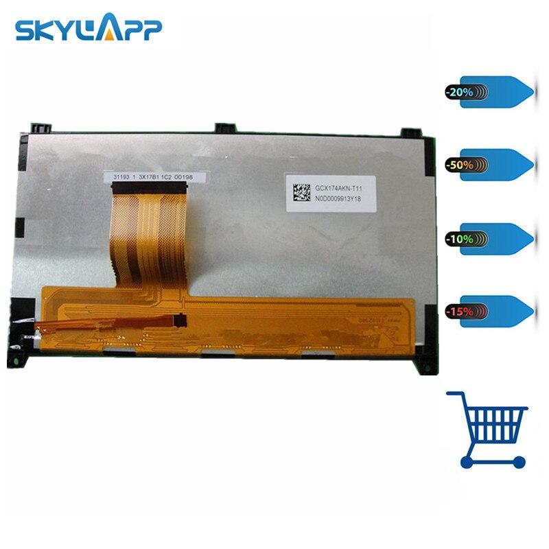 Skylarpu 9 pouces voiture GPS LCD écran panneau d'affichage pour GCX174AKN F060002833125 31193 1 2Z25B1 00249 GCX174AKN-T02 (sans contact)