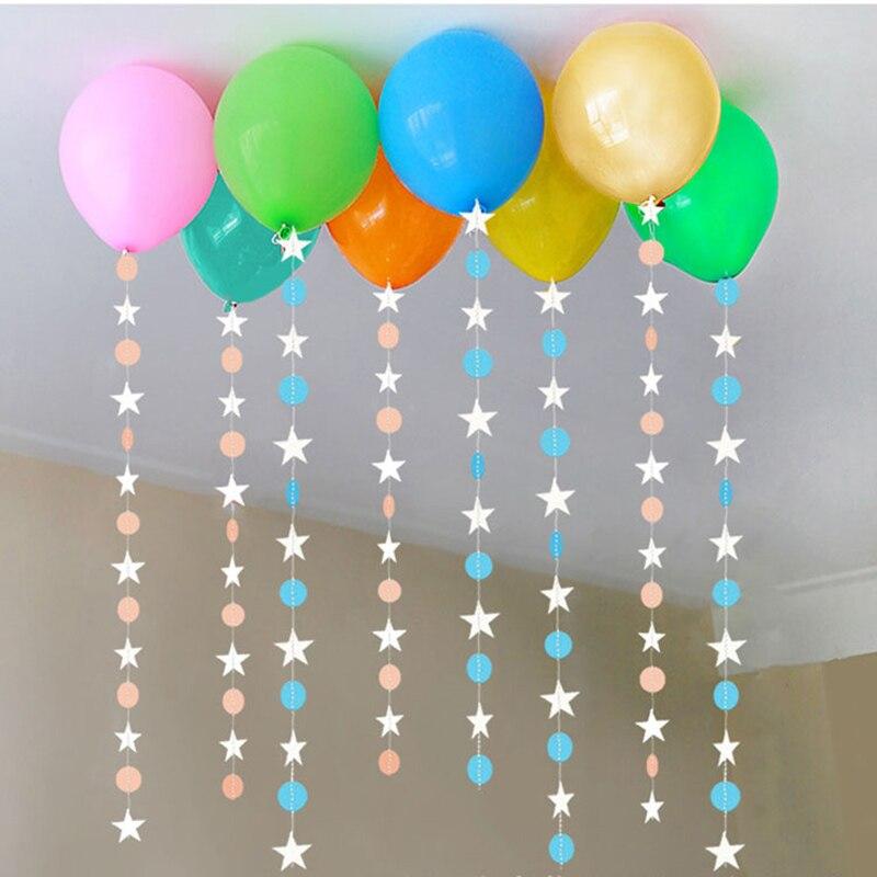Paper Star Girlanden 4 Mt Geburtstag Hochzeit Banner Kinder Zimmer ...