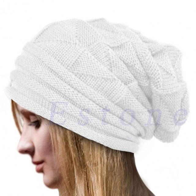 68ed4716cf0 Christmas Pleated Men s Skullies Hat Bonnet Winter Beanie Knitted Wool Hat  Plus Cap Thicker Mask Fringe