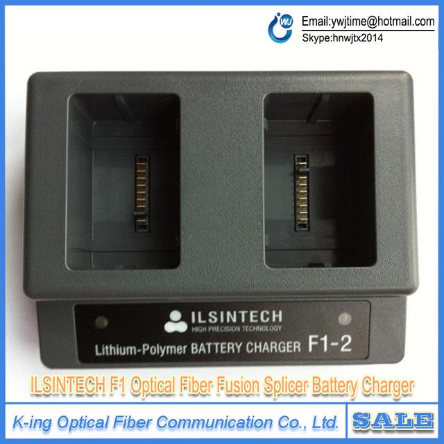 Máquina de solda de fibra ilsintech F1-2 originais carregador carregador de bateria Swift-F3 Swift-F1 ILSINTECH Splicer Fusão de Fibra Óptica
