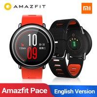 Английская версия Новые Huami Amazfit Pace умные часы gps умные часы предмет одежды устройства Смарт часы 1,2 ГГц 512 Мб/4 ГБ для Xiaomi IOS