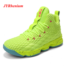 JYRhenium 36-46 Big Size Men Basketball Shoes Breathable Retro Sneakers Adult Authentic Zapatillas Hombre Deportiva Jordan Shoes цена