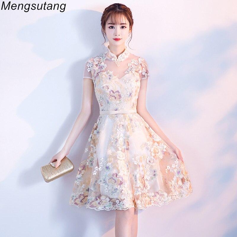 Robe de soiree New Arrival Summer A-Line Lace   evening     dress   with Appliques vestido de festa Elegant Prom   dresses   Party   dresses