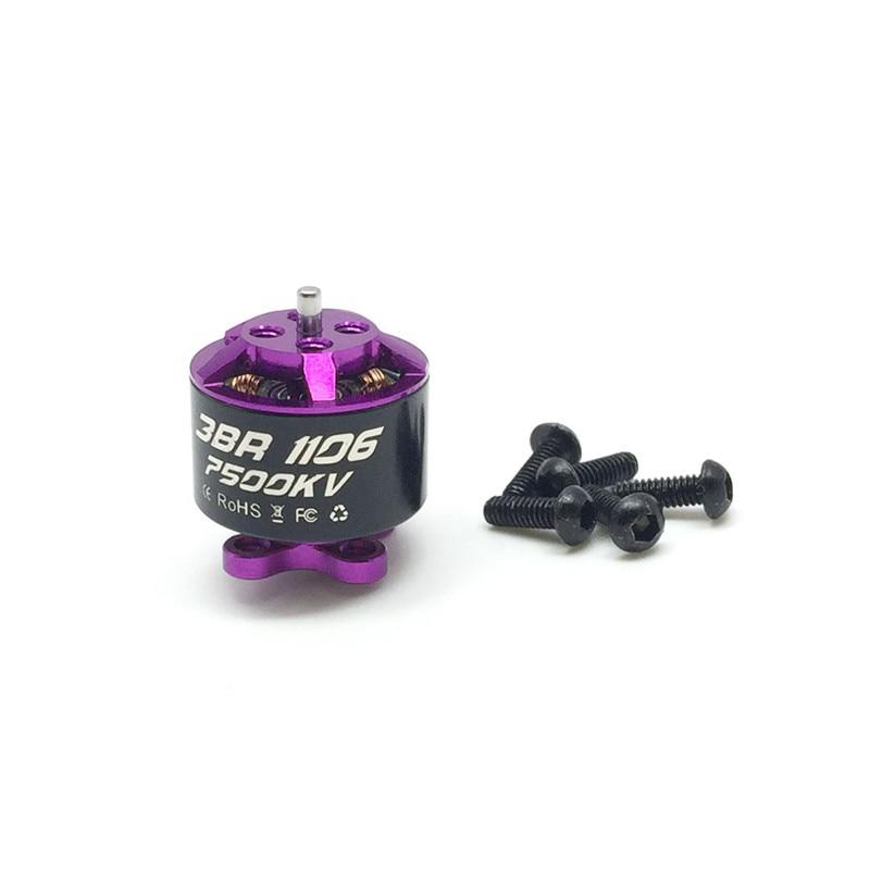 2 PCS 3Bhobby 3B-R 1106 Brushless Motor 6000KV 7500KV 2-3S For RC Drone FPV Racing Multi Rotor играем вместе водный cars disney