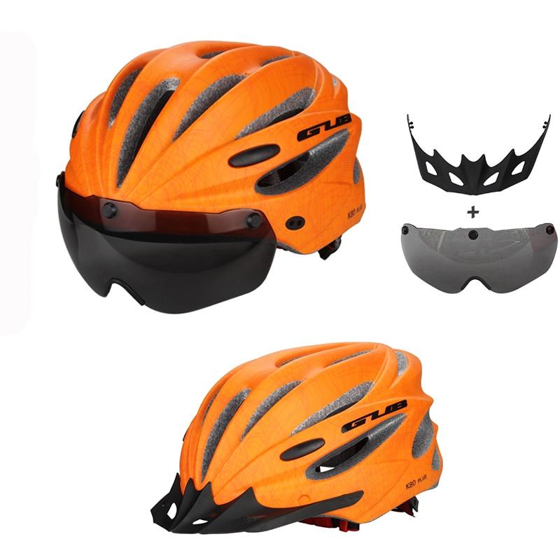 GUB High Density EPS rowerowy kask z gogle MTB Mountain rowerowe - Jazda rowerem - Zdjęcie 4