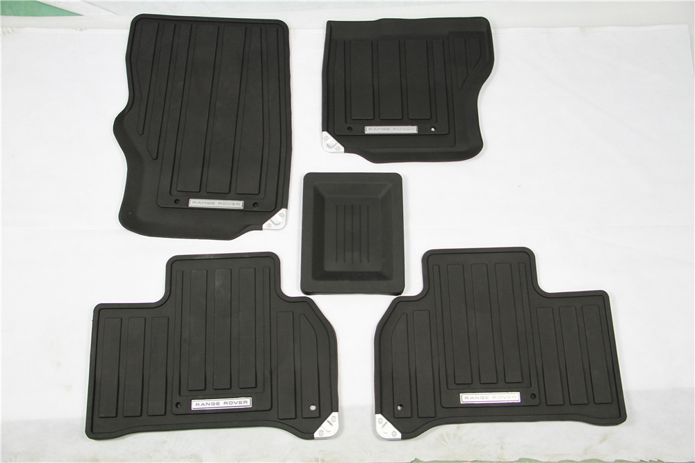 good quality black for land rover range rover sport 2014 2015 rubber floor mats auto parts. Black Bedroom Furniture Sets. Home Design Ideas