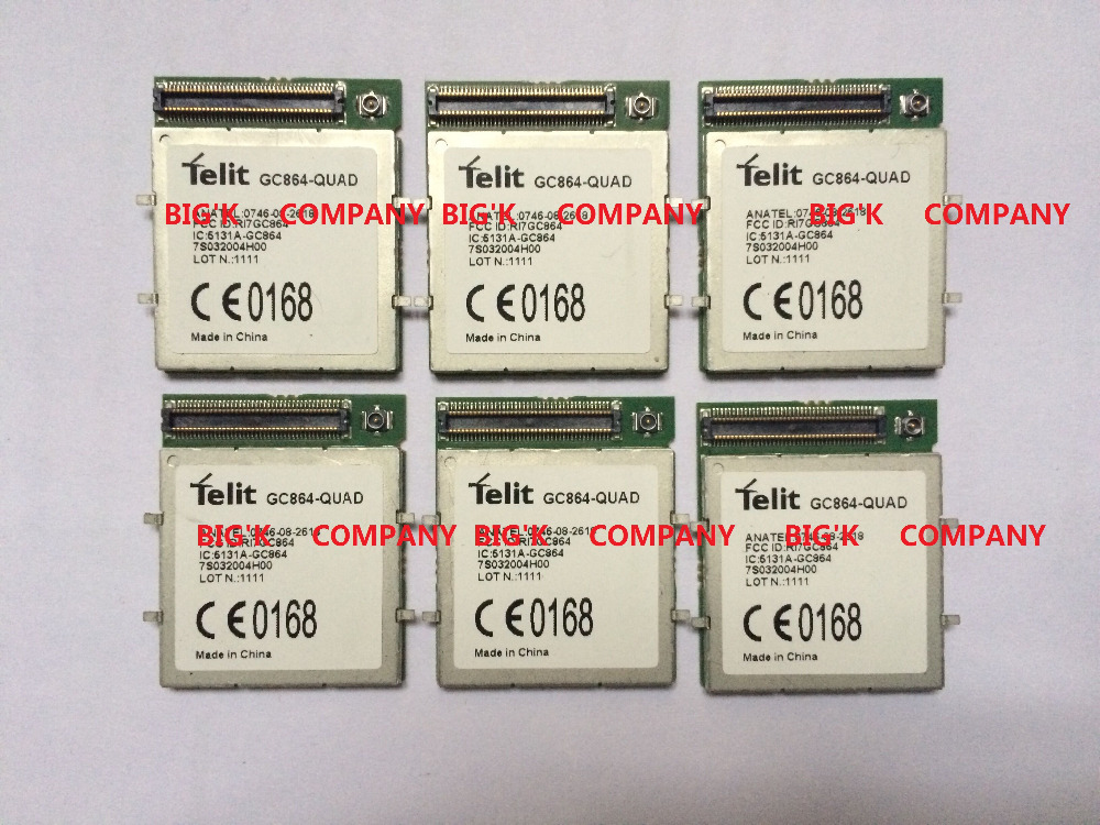 JINYUSHI For GC864 QUAD 2G 100 New Original Genuine Distributor GSM GPRS Embedded quad band module