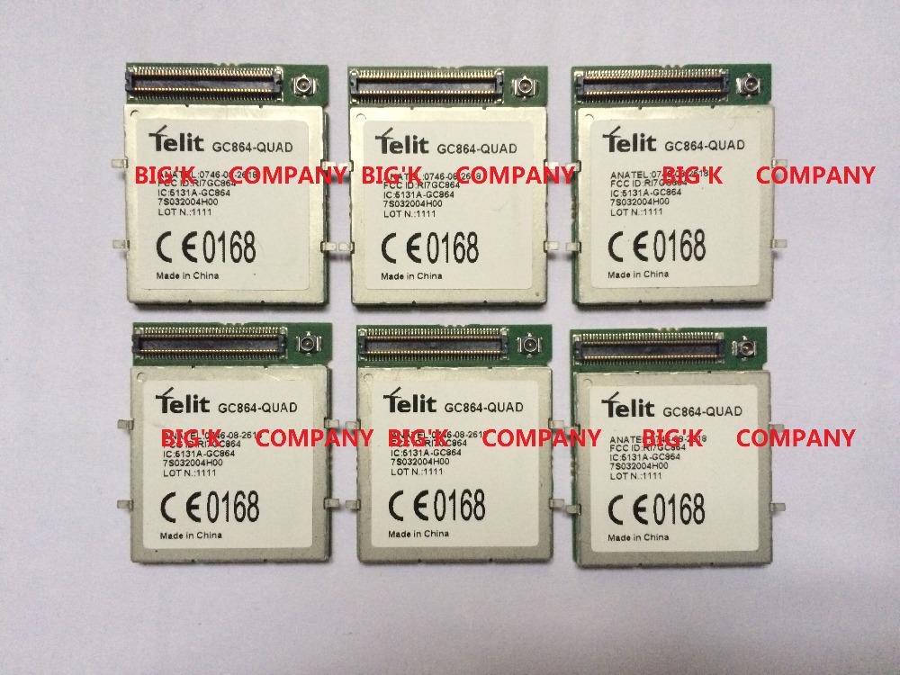 Prix pour JINYUSHI Pour GC864-QUAD 2G 100% Nouveau et Original Véritable Distributeur GSM GPRS Intégré quad-bande module 1 PCS livraison Gratuite