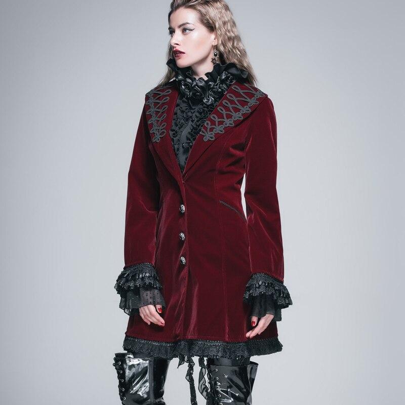 Veshja e gjatë e modës djallëzore e modës djallëzore për femra - Veshje për femra - Foto 2