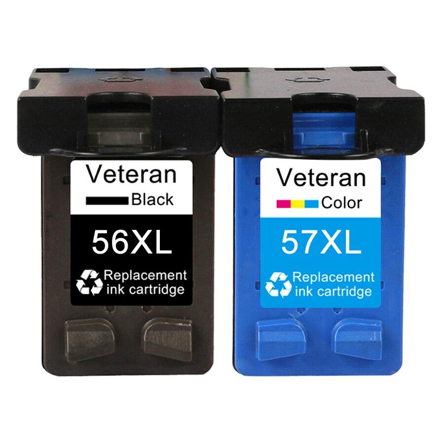 Чернильный картридж для hp 56 57 XL C6656a C6657a для Deskjet F4180 5150 450 450cbi 450wbt F4140 5550 5552 7150 принтер