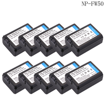 wholesale 10x bateria NP FW50 NP-FW50 Battery For Sony NEX-7 NEX-5N NEX-F3 SLT-A37 A7 NEX-5R NEX-6 NEX-3 NEX-3A 7R II Camera