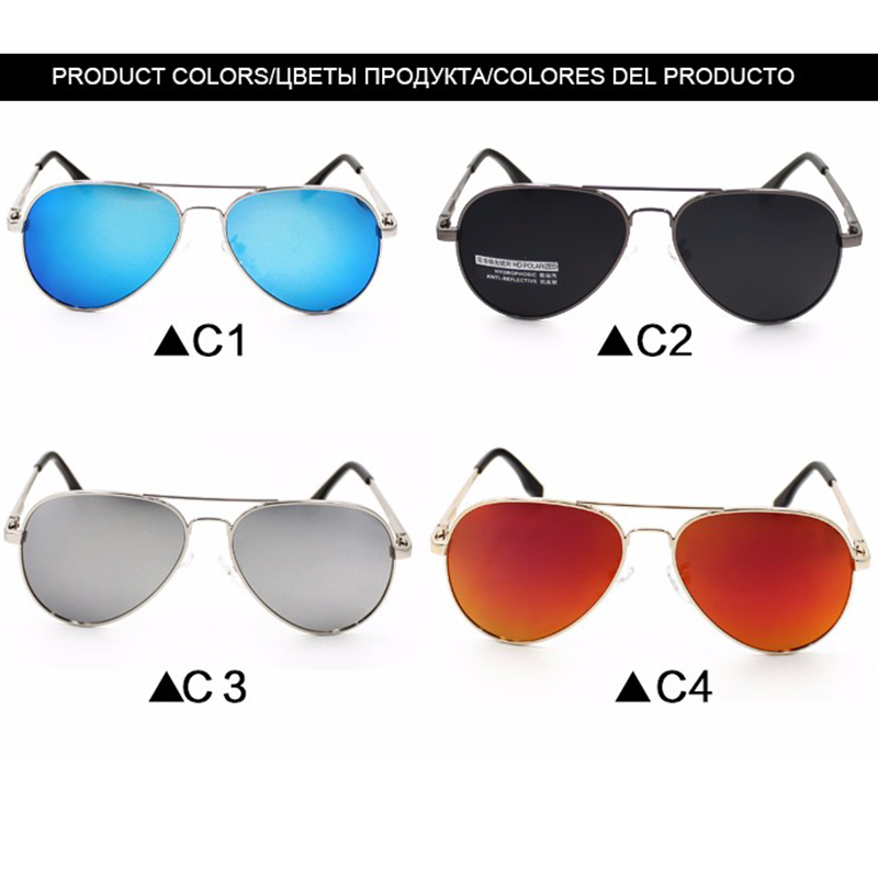 Sunglasses for Kids Children Classic Retro Design Pilot Style Alloy Frame Glasses UV400 Sun Glasses Gafas De Sol Mujer Vintage 2