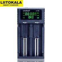 Liitokala cargador de batería de litio, Lii S2 LCD, 2019 V, 3,7, 18650, 18350, 18500, 16340, 21700, 20700, 14500, 26650, AA, AAA, NiMH, 1,2