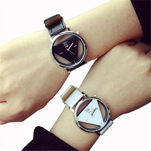 Important Excessive High quality relogio feminino Music Character Leather-based Band Analog Quartz Wrist Watches jan20