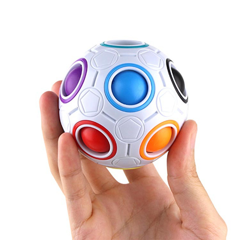 New Arrival Football Fidget Cube Decompression Finger Toys