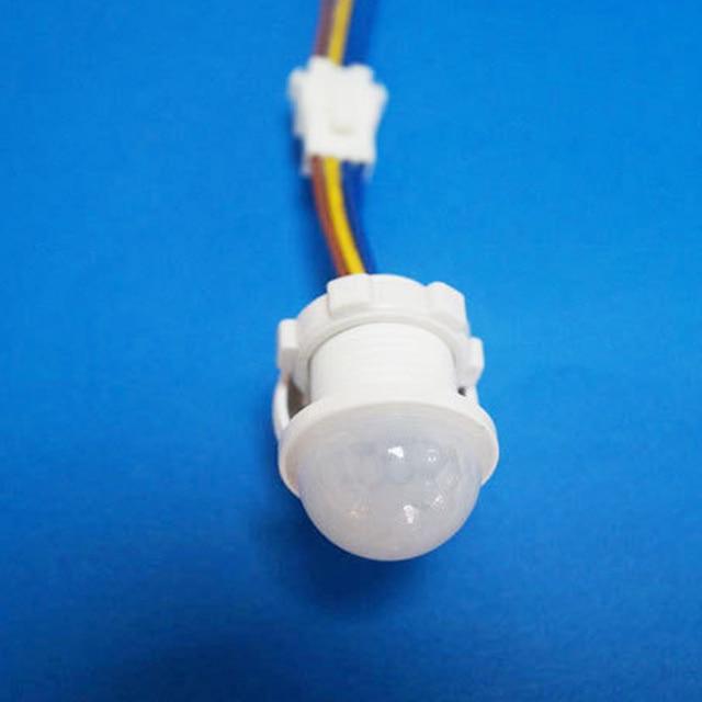 PIR czas opóźnienia przełącznik oszczędzania energii oświetlenie domu czujnik ruchu czuły detektor Led